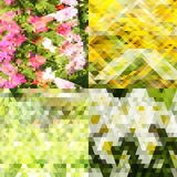 Abstract green backgraund. Abstract green yellow white backgraund stock illustration