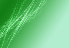 Abstract green background. With render white stripes Stock Photography