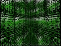 Abstract green background Stock Image