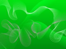 Abstract green background. With lines and gradients Stock Photos