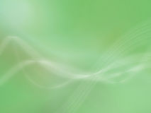 Abstract green background. With decorative curved or wavy effect Royalty Free Stock Photos