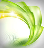 Abstract Green Background stock illustration