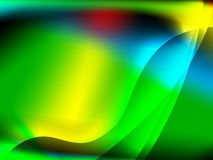 Abstract green background. Colorfull abstract backgrjund with green red and yellow space Royalty Free Illustration