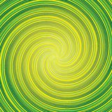 Abstract green background. Abstract green and yellow twirled background stock illustration