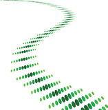 Abstract green background. Vector illustration Stock Illustration