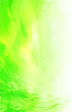 Abstract green background. Detailed simulated brush strokes Royalty Free Stock Photos