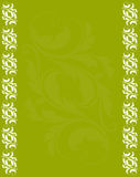 Abstract green background with antique frame Royalty Free Stock Image