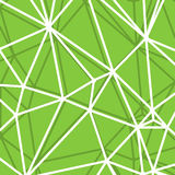 Abstract Green Background with big Lines Stripes, Abstract Connection Net Concept Stock Images