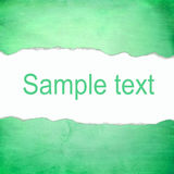 Abstract green background with blank space for text Stock Photo