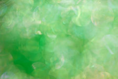 Abstract green  background with bokeh effect Royalty Free Stock Image