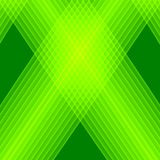 Abstract green background. Bright green lines. Geometric pattern in green colors. Royalty Free Stock Photography