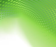 Abstract green background. With circular pattern and swirl effect Royalty Free Stock Photo