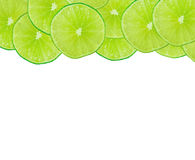Abstract green background with citrus-fruit Royalty Free Stock Image