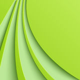 Abstract green background with curved lines Royalty Free Stock Photography