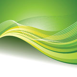 Abstract green background with custom text copy space Stock Images