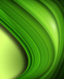 Abstract green background. Abstract background, 3d green curves Royalty Free Stock Photos