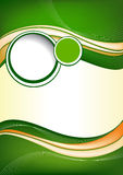 Abstract green background design Royalty Free Stock Photography