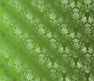 Abstract Green Background With Floral Royalty Free Stock Photography