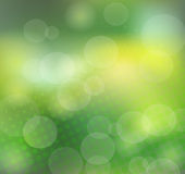 Abstract green background. With halfton.  EPS10 transparency, blend mode used Royalty Free Stock Images
