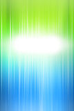 Abstract green background of holiday lights Stock Image