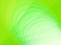 Abstract green background with lines and circles Stock Photo