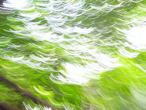 Abstract green background of motion blur Stock Photo