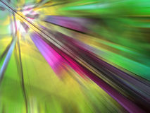 Abstract green background with motion zoom effect Royalty Free Stock Photography