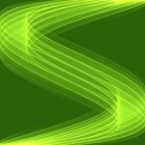 Abstract green background pattern. Bright green lines. Royalty Free Stock Images
