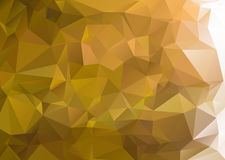 Abstract green background polygon Stock Photo