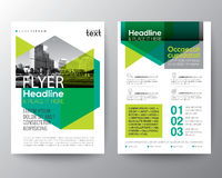 Abstract green background for Poster Brochure Flyer design Layout Royalty Free Stock Images