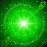Abstract green background. Stock Images
