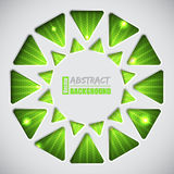 Abstract green background with text container Royalty Free Stock Photo