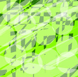 Abstract green background. With transparent circles Stock Photos