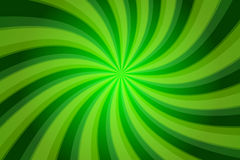 Abstract green background with twisted stripes Stock Photography