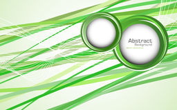 Abstract green background. Vector Stock Photos