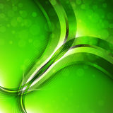 Abstract green background. Vector Royalty Free Stock Image