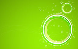 Abstract green background. Vector Illustration Royalty Free Stock Images