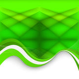 Abstract green background. Vector Illustration Royalty Free Stock Image
