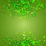 Abstract Green Background, vector illustration Stock Photo