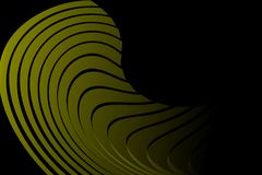 Abstract green and black background. Vector illustration. Stock Photos