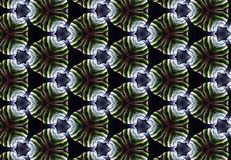 Abstract green black circle pattern wallpaper. Royalty Free Stock Photos
