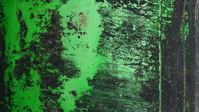 Abstract green and black colors texture on metal plate Stock Photo