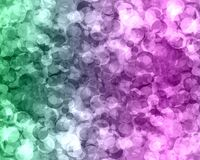 Abstract green blue purple color bokeh wallpaper Royalty Free Stock Photos