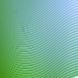 Abstract green blue waves and lines pattern Stock Photography