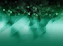 Abstract green blured background for design Stock Images