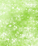 Abstract green blurred background. shiny lights Royalty Free Stock Photos