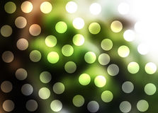 Abstract green bokeh background Stock Photography