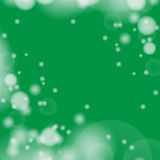 Abstract green bokeh  background. Royalty Free Stock Photography
