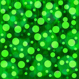 green bokeh background Stock Photography