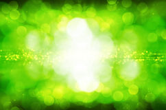 Abstract green bokeh background. Abstract green light bokeh background stock illustration